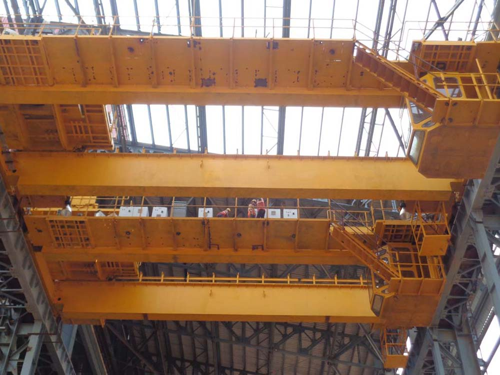 Erection of Overhead EOT Crane