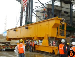 equipment erection at mahan