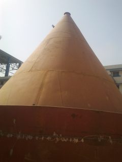 Erection of Silo Dust Hopper