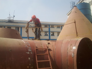 Fabrication of Cooling Tower Shell